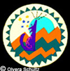Coyote Wind Rawhide Shield-©Becky Olvera Schultz