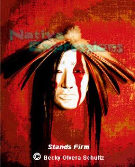 Stands Firm-©Becky Olvera Schultz