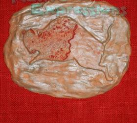 Bison Plaque ©Becky Olvera Schultz