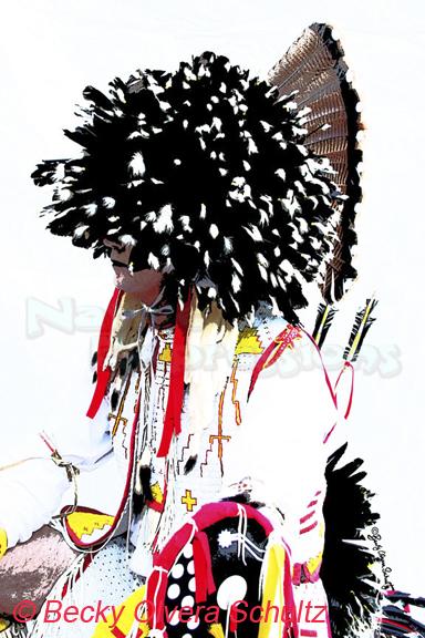 Powwow Dancer, Ray-©Becky Olvera Schultz