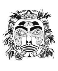 Kwakiutl Mask