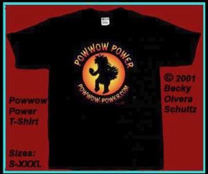 Powwow Power T-Shirt