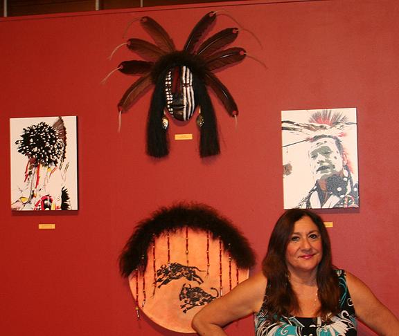 Petaluma Historical Museum Exhibit-Becky Olvera Schultz
