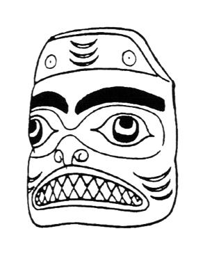 free mask clip art native american inspired masks art Mardi Gras Mask