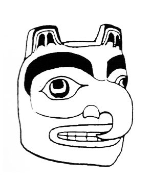 free mask clip art native american inspired masks art Native American Videos haida mask 3