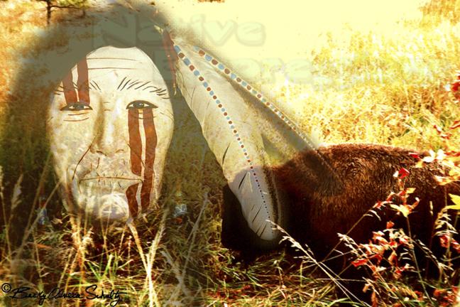 Bison Guardian-©Becky Olvera Schultz