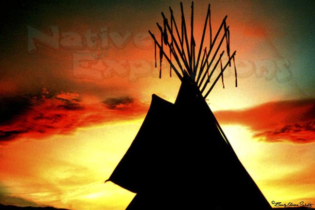 Powwow Sunset-©Becky Olvera Schultz